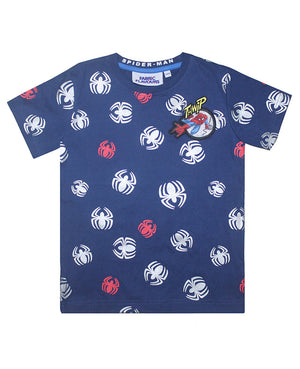 Spider-Man Repeat Print Tee
