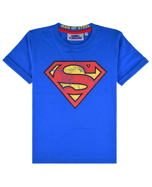 Superman Logo Vintage Wash Tee