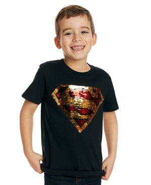 Superman Flip Sequin Tee