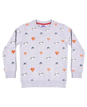 Superman All Over Repeat Sweatshirt