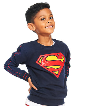 Superman Logo Sweatshirt