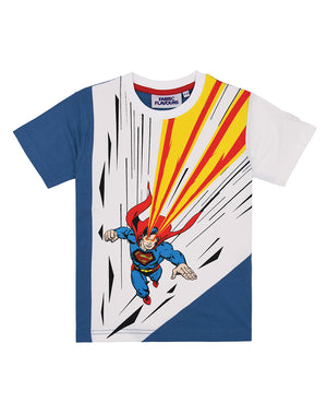 Superman Heat Vision Cut and Sew Tee