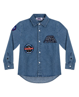 Star Wars Denim Badge Shirt