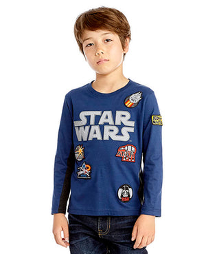 Star Wars Reflective Logo Badge Tee