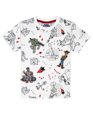 Toy Story Character Print Tee