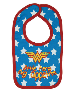 Wonder Woman Little Hero Big Appetite Bib