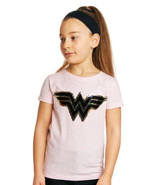 Wonder Woman Flip Sequin Tee