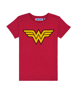 Wonder Woman Classic Logo Red Tee