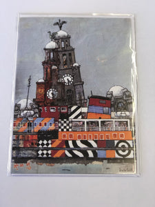Greetings card by Bob Hill Art
