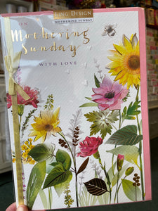 Mothering Sunday card by Ling Design