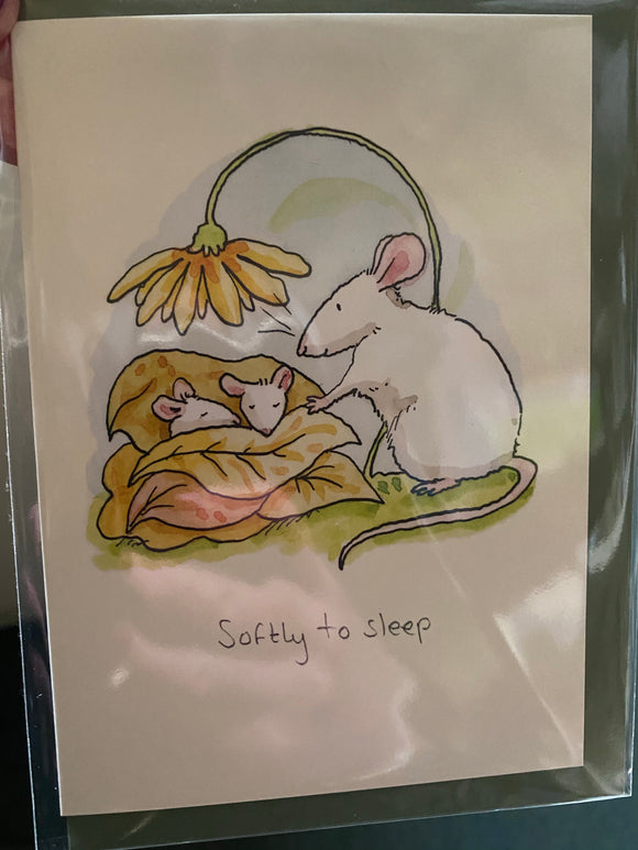 Two Bad Mice Greetings card