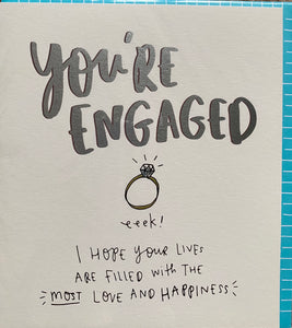 Pigment Productions Engagement card