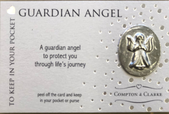 Compton & Clarke Guardian Angel charm
