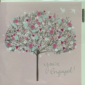Woodmansterne Engagement Greetings Card