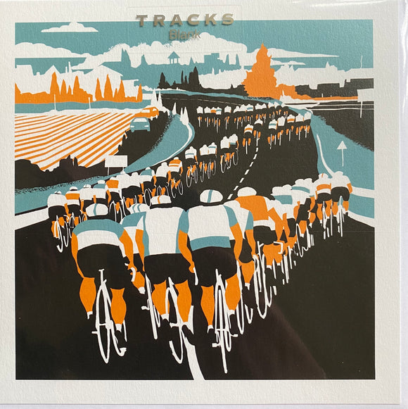 Tracks Publishing blank greetings card