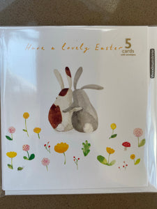 Pack of 5 Easter cards by Woodmansterne (1 design)