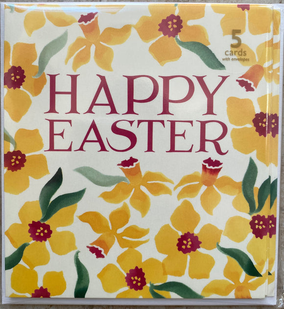 Pack of 5 Easter cards by Emma Bridgewater for Woodmansterne (1 design)