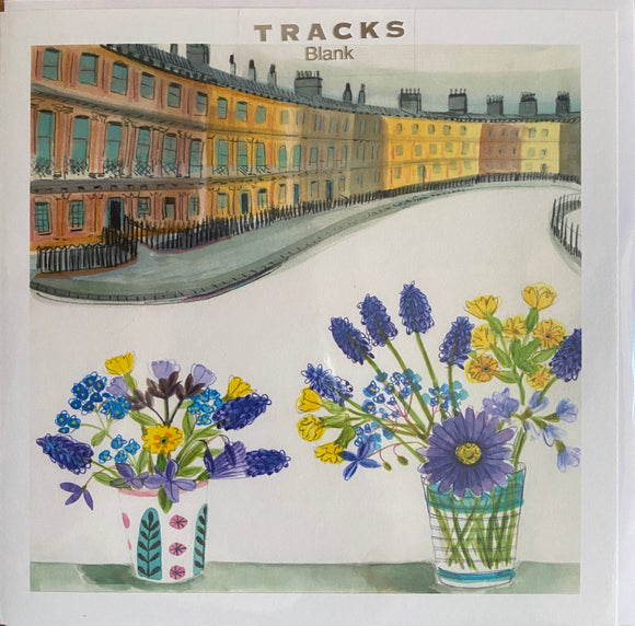 Tracks Publishing greetings card