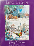 Ling design box of 24 assorted Christmas cards
