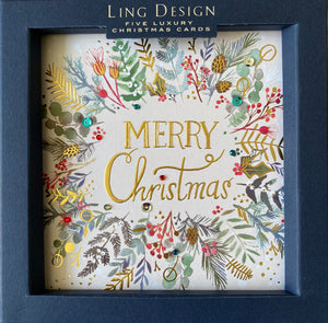 Ling design luxury Christmas cards