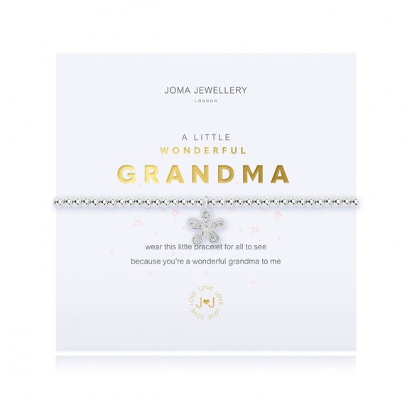 A little - wonderful Grandma bracelet