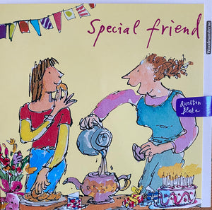 Quentin Blake Greetings Card