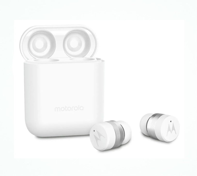 Motorola Verve Buds 110 White Bluetooth Earbuds Wireless