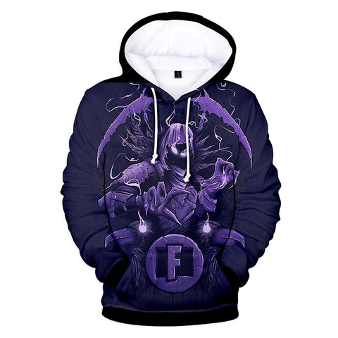 RougeFox™ Special Fortnite 3D Printed Stylish Hoodie For Men & Women