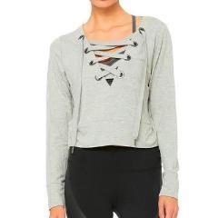 Alo Yoga Ideal Long Sleeve Front View