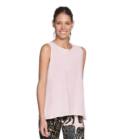 Maaji Active Halo Blush Tank Top Front View
