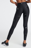 Ultra High Knockout Legging in Nero/Patent Nero