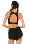 Alo Yoga Incline Bra Black Back View