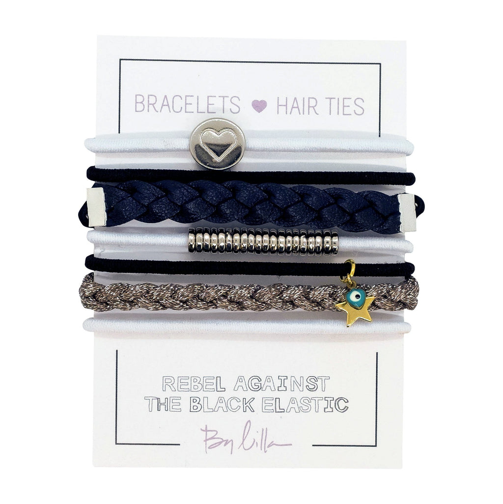By Lilla Glam Stack Hair Ties