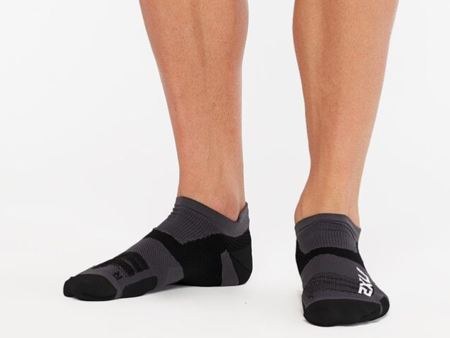 Vectr Compression Socks (Titanium/Black)