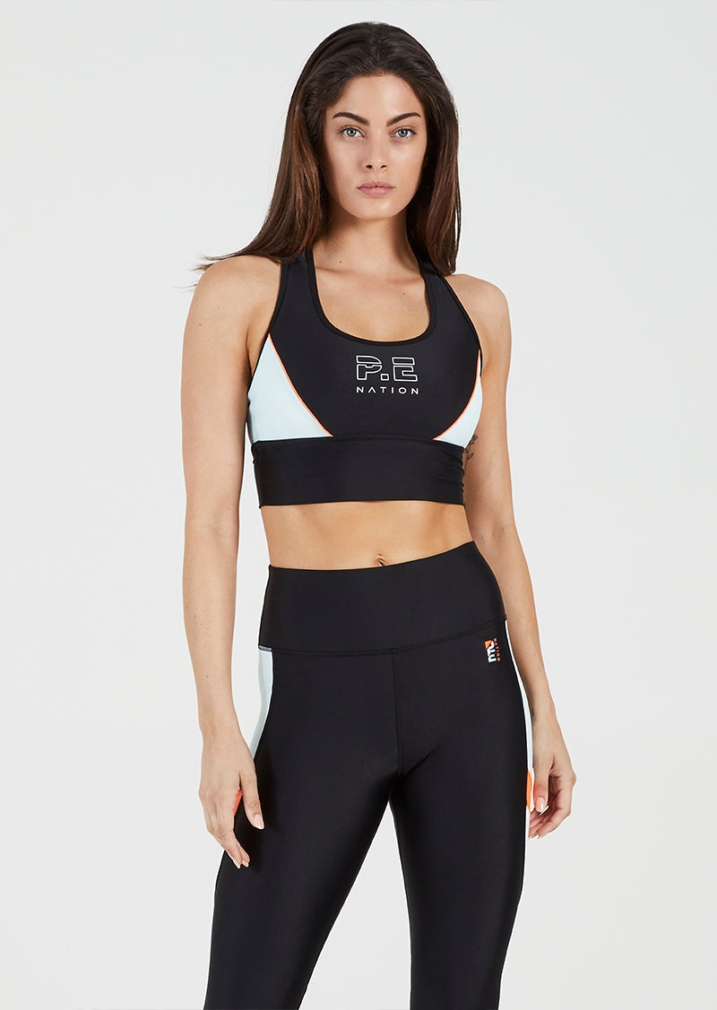 P.E Nation Acceleration Sports Bra Front View