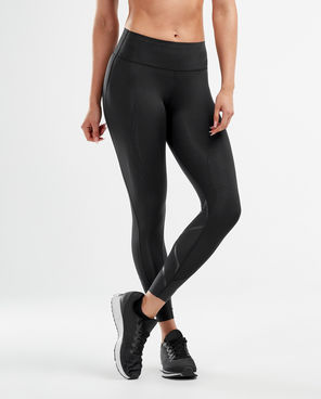 2XU MCS Cross Training Mid-Rise Compression Tights Front View