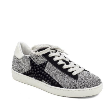 Lola Cruz Sneakers, sparkly sneakers, sneakers with stars, women's workout clothes, athleisure