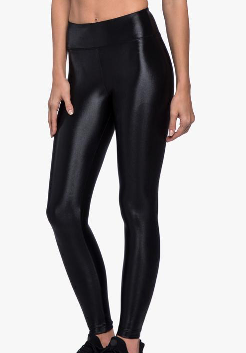 koral Lustrous High Rise Legging in black