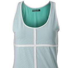 inphorm ashley tank white Black Front View