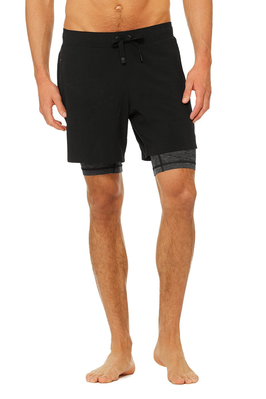 Unity 2 in 1 - Black Shorts