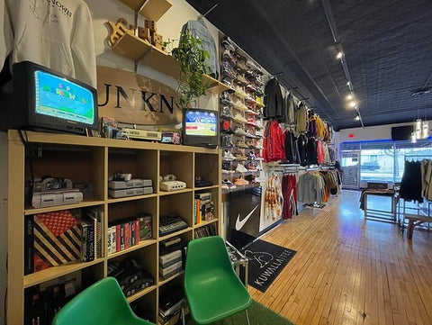 Unknown's clothing retro gaming collection