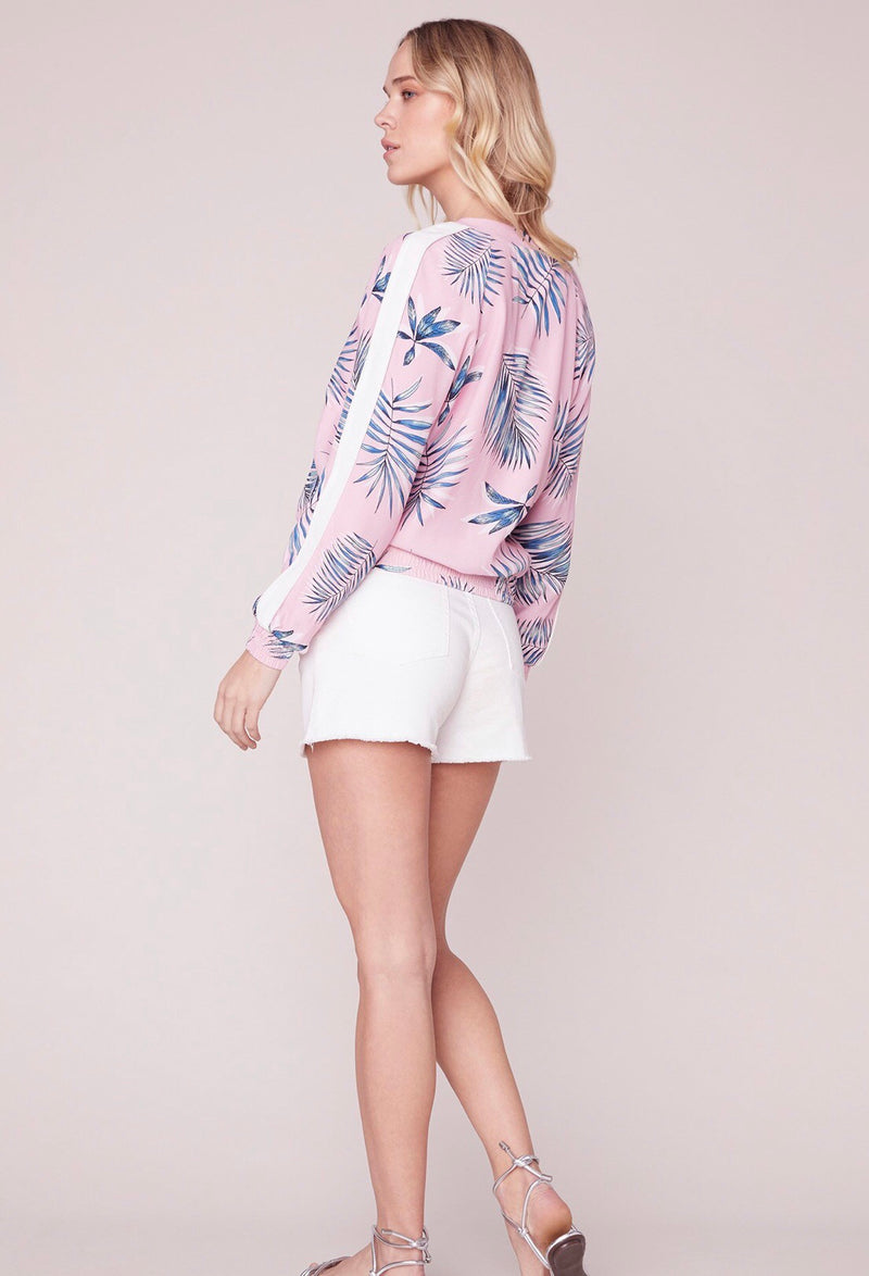 Palm Before A Storm Bomber Jacket