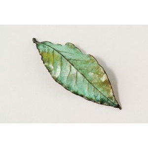 Nature's Creations Bay Leaf Pin