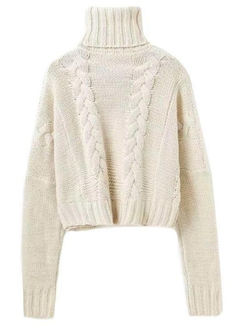 57cd69ba050d7e ... Load image into Gallery viewer, 'MARSHMALLOW' BRAIDED KNIT ...