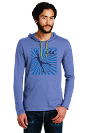 MEN'S SPLASH LIGHTWEIGHT LONG-SLEEVE HOODED T-SHIRT (Choose Your Discipline)
