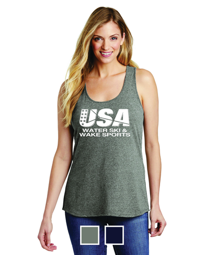 District ® Women's V.I.T. ™Gathered Back Tank