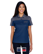 Ladies' Balance Colorblock Performance Piqué Polo