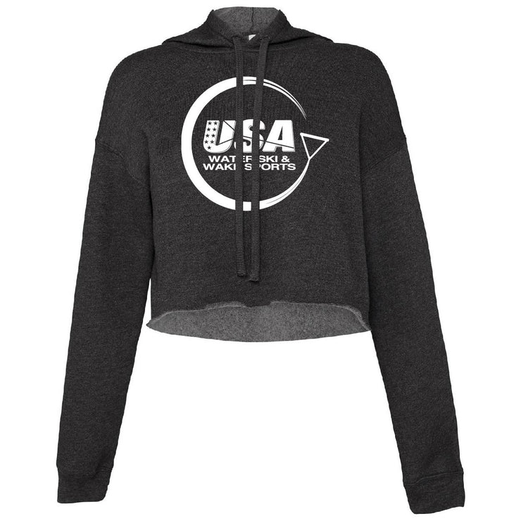Bella + Canvas Ladies' Cropped Fleece Hoodie
