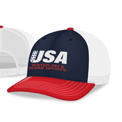 USA Water Ski & Wake Sports Cap