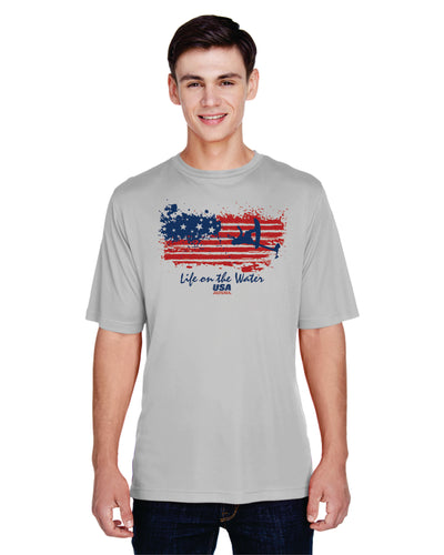 Men's Flag Performance Short Sleeve (Choose Your Discipline)